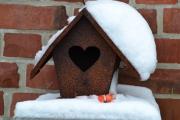 Willkommen-Vogelhaus